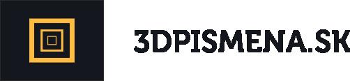 3d pismena logo