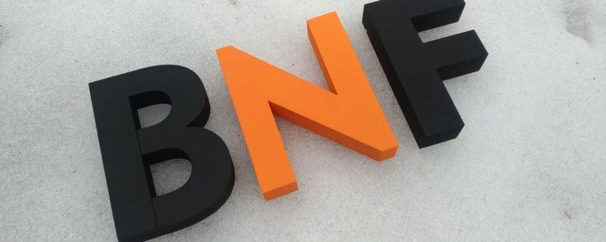 3D logo BNF