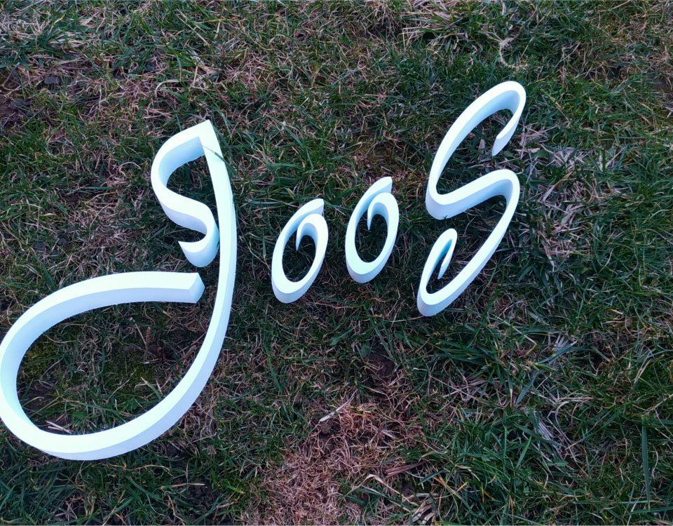 3d logo joos www.3Dpismena.sk