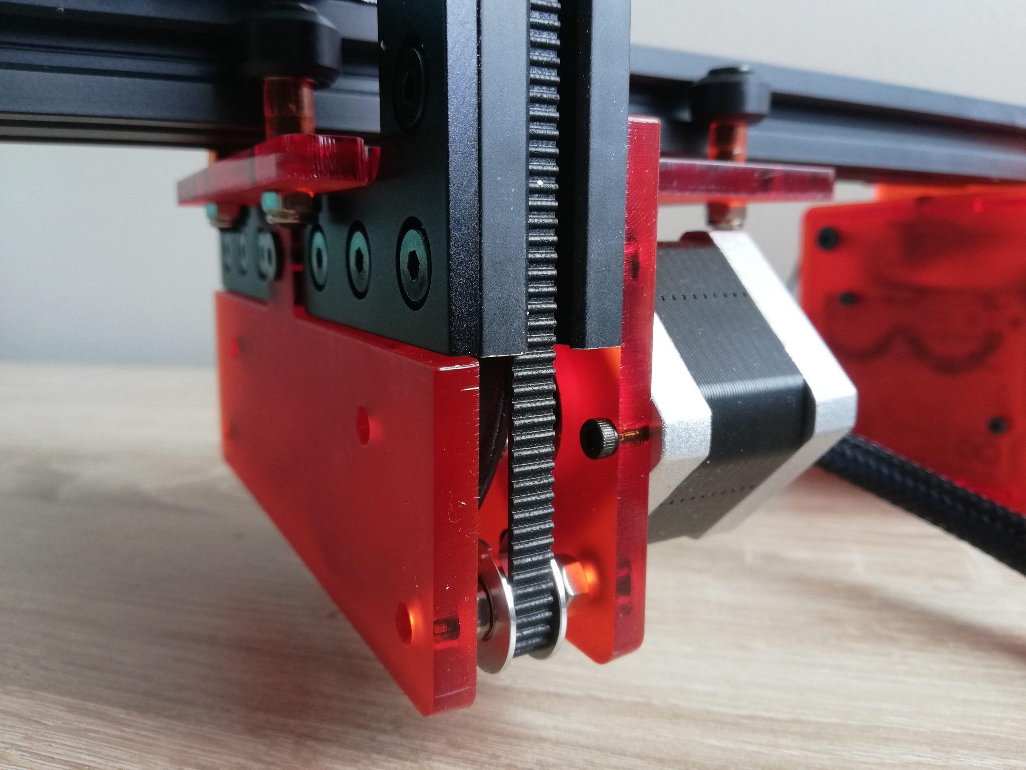 CNC rezačka pohon