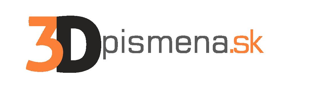 logo 3Dpismena.sk